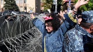 Пореден многохиляден протест срещу Саркисян