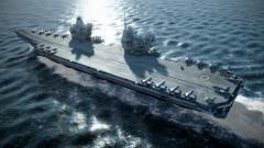 """За Русия новият британски самолетоносач бил """"удобна морска цел"""""""