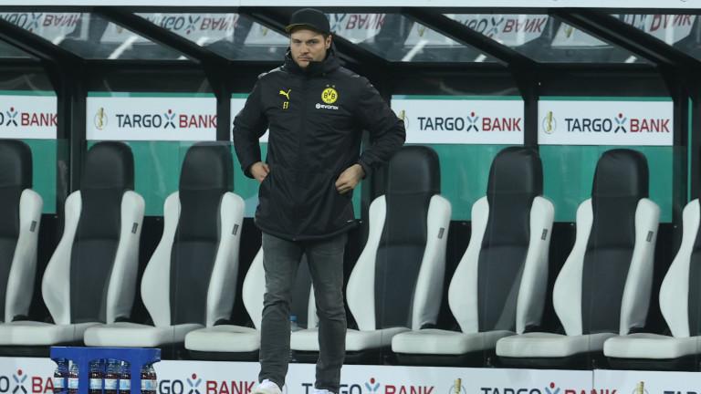 Старши треньорът на Борусия(Дортмунд) Един Терзич сподели очакванията си от