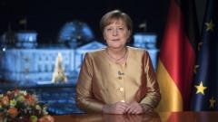 Меркел в последно новогодишно обръщение: 2020 година бе най-трудна за мен като канцлер