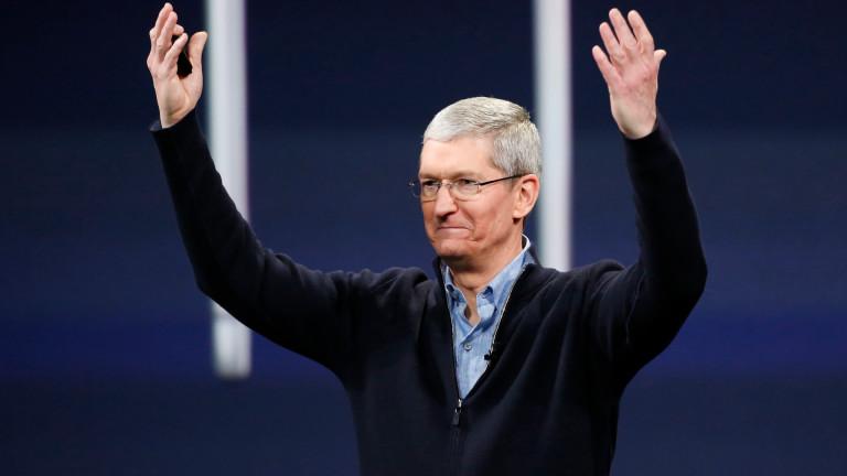 След девет години начело на Apple, Тим Кук най-сетне стана