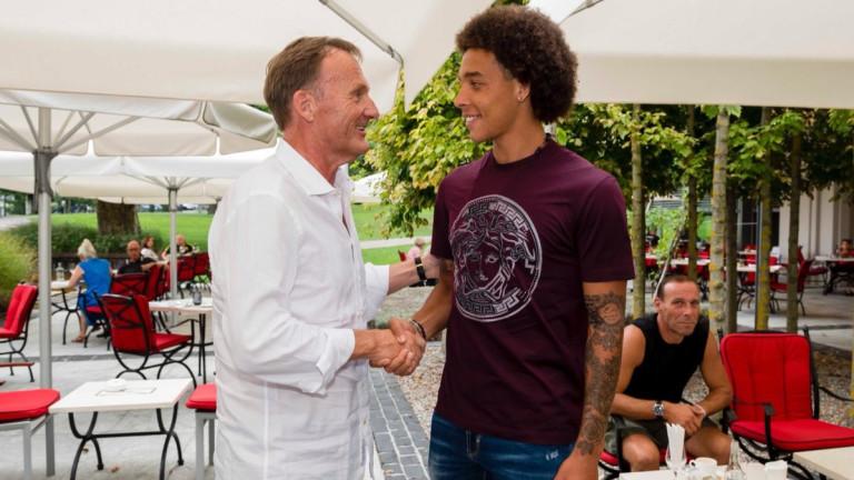 Официално: Аксел Витсел е футболист на Борусия (Дортмунд)