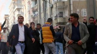 Хиляди протестираха в Диарбекир срещу забраната на  Демократичната партия на народите