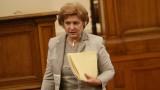 Иновативните лекарства се поемат от здравното министерство, увери Менда Стоянова