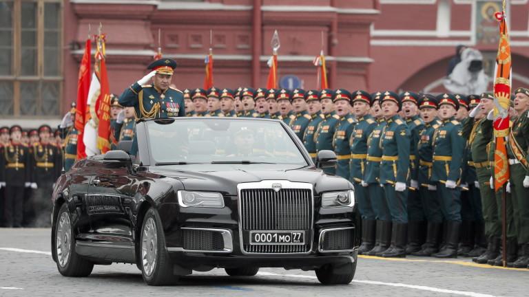 Коронавирус: Русия отлага военния парад за Деня на победата