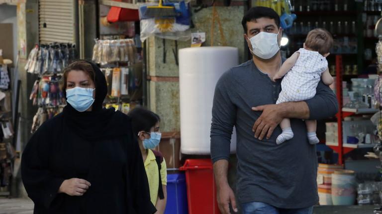 Коронавирус: Лек спад на новозаразените в Иран