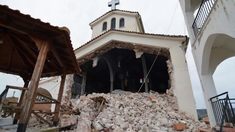 Земетресение от 5,7 по Рихтер в Централна Гърция