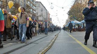 75 хил. учители на протест в София