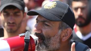 Отново номинираха Пашинян за премиер на Армения