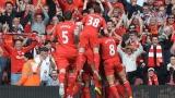 """""""Анфийлд"""" мечтае! Ливърпул е новият лидер в Англия"""