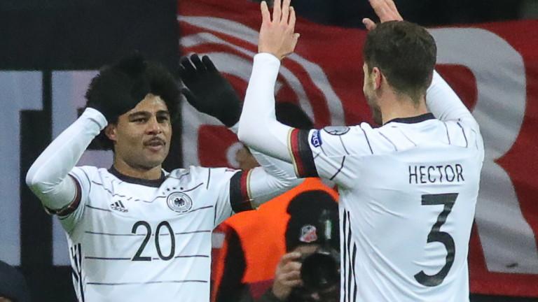 Снимка: Германия подпечата с разгром първото си място в група С