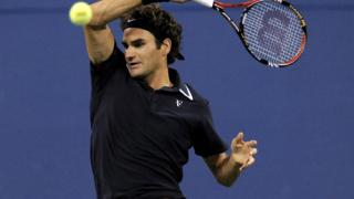 """Федерер продължава по график на """"Ю Ес Оупън"""""""