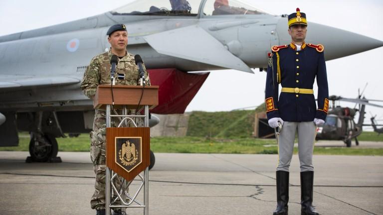 Кораби на НАТО в Черно море, Великобритания разположи изтребители в Румъния