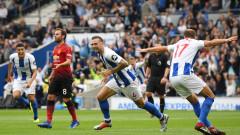 """Специален шок за Юнайтед в Южна Англия, Брайтън нокаутира """"червените дяволи"""" за едно полувреме!"""