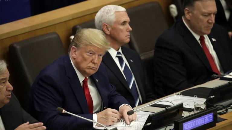 Тръмп убеден: Щях да спечеля Нобелова награда, ако я връчваха безпристрастно