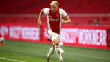 Дони ван де Беек премина медицински прегледи в Манчестър Юнайтед