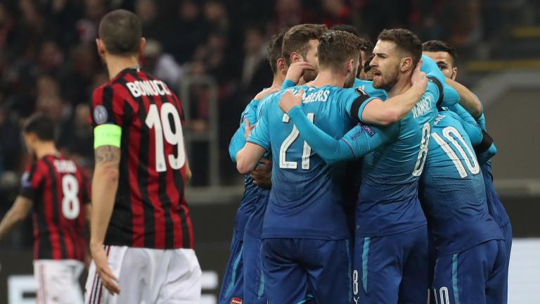 Милан ще извади зимна оферта за полузащитника на Арсенал Аарън