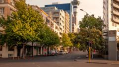 Опит за протест срещу локдауна в Окланд, Нова Зеландия