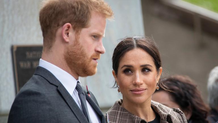 Преди около две седмици принц Хари и Меган Маркъл замениха