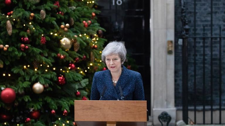 Днес британският премиер Тереза Мей се връща в Брюксел, за
