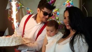 Дъщерята на Сашо Кадиев стана на годинка (СНИМКИ)