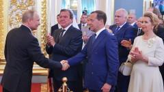 Путин предложи Медведев за премиер на Русия