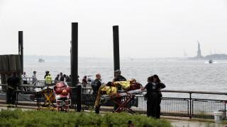 Пожар евакуира Статуята на свободата