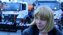 София се подготвя за зимата, Фандъкова проверява