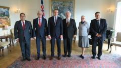 Евродепутатът Радев и президентът на Исландия обсъдиха съдебната реформа