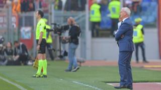 Клаудио Раниери след 1:4 от Наполи: Трудно ми е да помогна на Рома