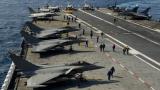 """Франция нанесе първи удари по """"Ислямска държава"""" в Ирак от самолетоносача си"""