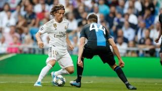 Реал (Мадрид) едва се спаси от загуба срещу Брюж у дома, Кабаков изгони футболист на белгийците