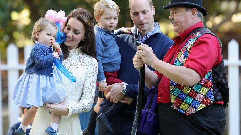 Принцеса Шарлот произнесе първата си дума