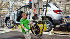 Skoda започна серийно производство на новия кросоувър Karoq