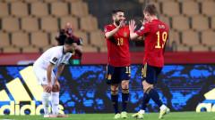 Испания дръпна на Швеция в класирането след чиста победа над Косово