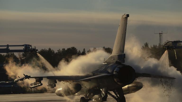 Пилот загина при тренировъченполет с F-16CM в Южна Каролина