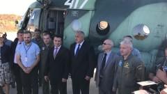 Готови сме да помогнем за пожарите, заяви Борисов на Заев