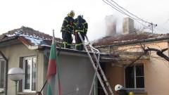 Пожар изпепели къща в Русе