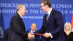 Ердоган обеща газ, инвестиции и подкрепа за Сърбия
