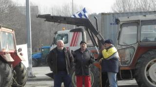 """Гръцките фермери за втори път затвориха ГКПП """"Илинден"""""""