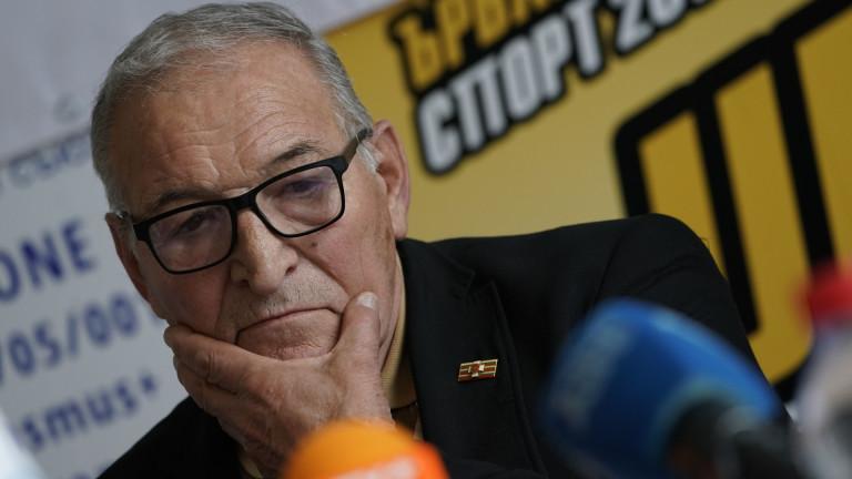 Легендата на ЦСКА Димитър Пенев, който в момента е част