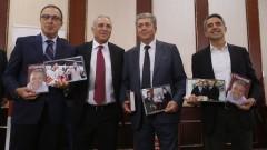 Трима български президенти уважиха Христо Стоичков