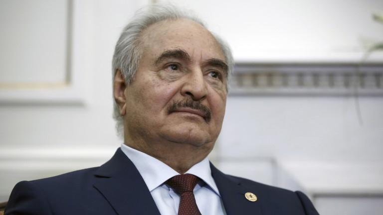 Фелдмаршал иска да е президент на Либия