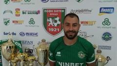 Никола Колев остава в Ботев (Враца) и през следващия сезон