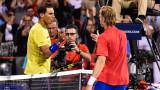 Денис Шаповалов не допусна Рафаел Надал до световния връх
