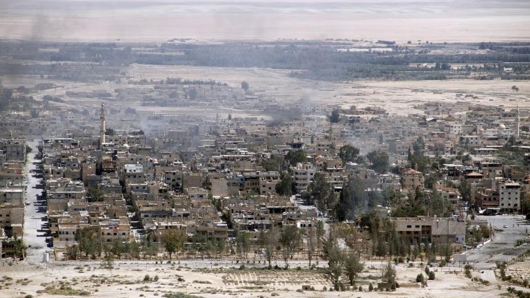 US-коалицията разруши танкове и ПВО близо до Палмира