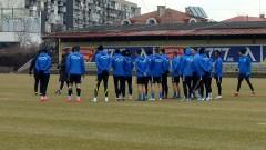 Левски проведе последната си тренировка преди мача с Черно море