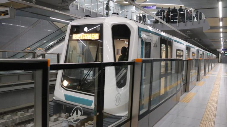 Строим още шест станции на метрото в София
