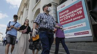 В Русия невижданите от 2 януари 25 766 новозаразени с коронавируса