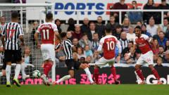 Арсенал не сгреши и срещу Нюкасъл